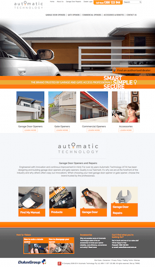 New ATA Kentico CMS Website by TWMG