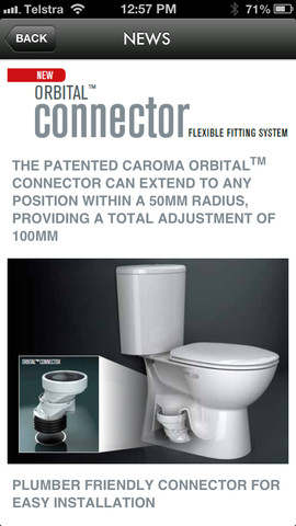 Caroma and fowler plumbers handbook news