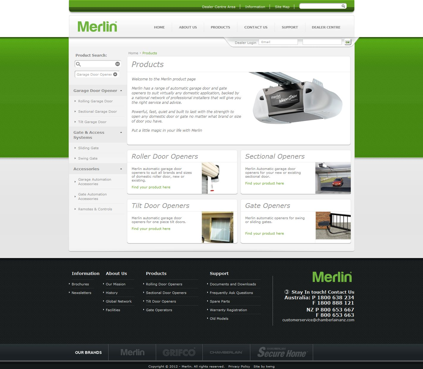 Merlin Products