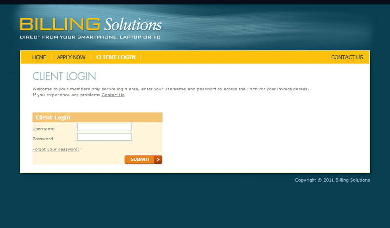 Billing Solutions Client Login
