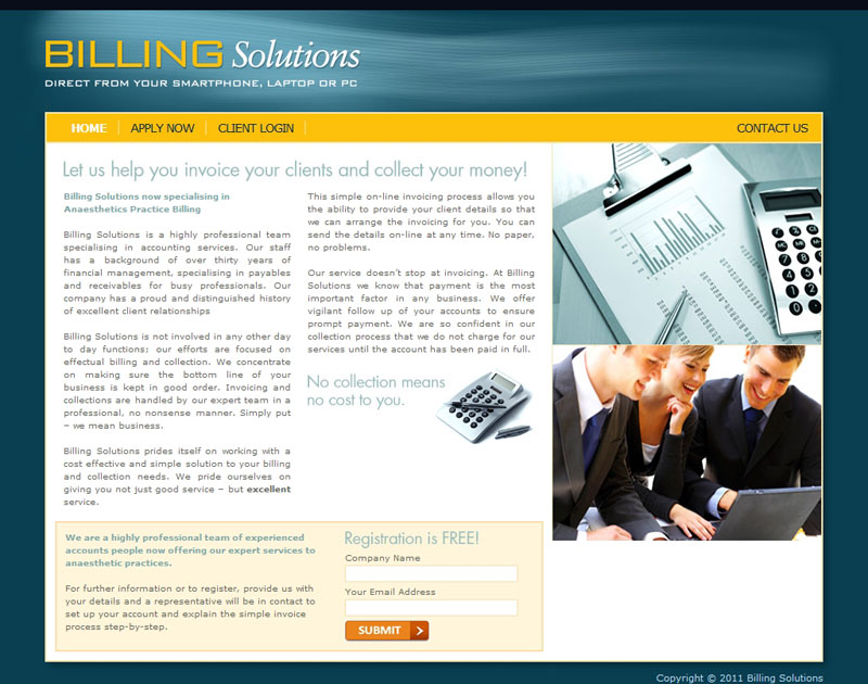 Billing Solutions Home