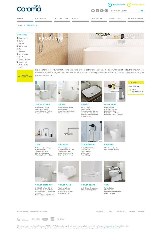 Caroma Case Study - SEO SEM - Website Design Sydney|TWMG