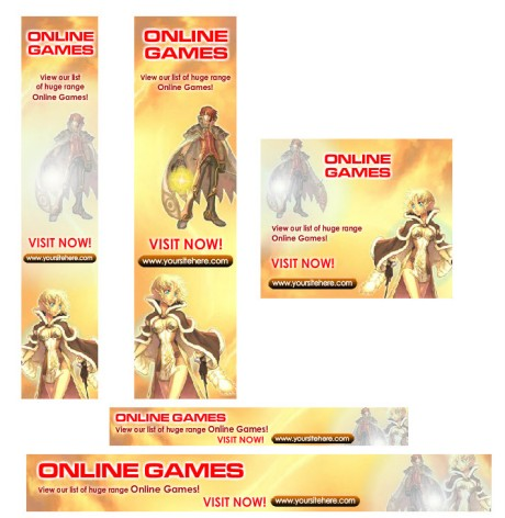 Online Games Banner Advertising
