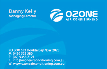 Ozone Business Cards Sample 1