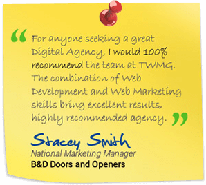 Testimonial from Stacey Smith, National Marketing Manager, B&D Doors and Openers