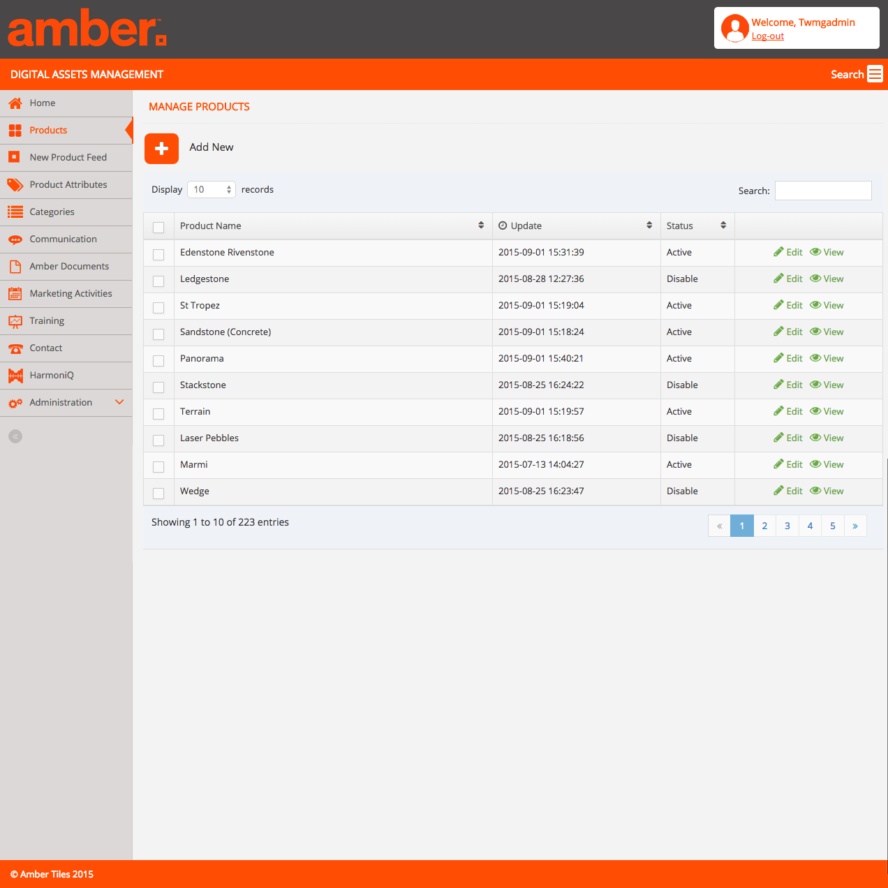 Check out Amber Tiles DAM - Manage Products to know how our web developers and web design Sydney team to help your online marketing, SEO, SEM, social marketing and web development.