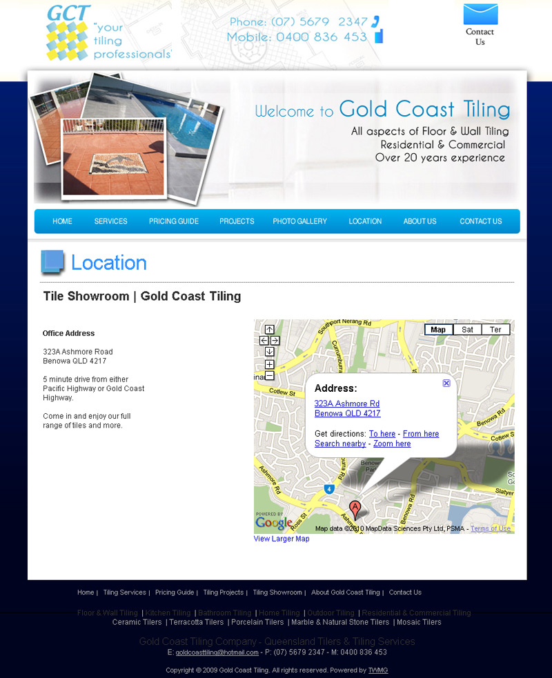 Gold Coast Location