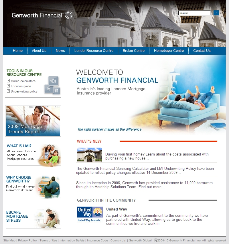 Check out Genworth Home to know how our web developers and web design Sydney team to help your online marketing, SEO, SEM, social marketing and web development.