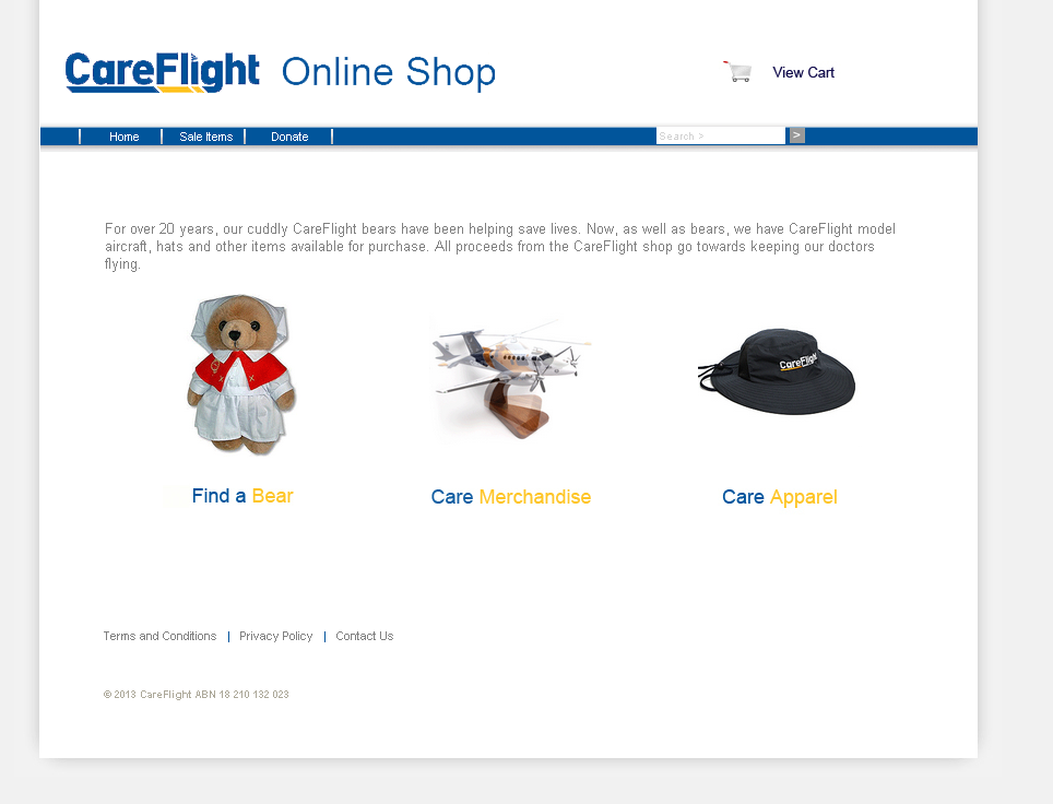 Check out care flight shop - twmg to know how our web developers and web design Sydney team to help your online marketing, SEO, SEM, social marketing and web development.