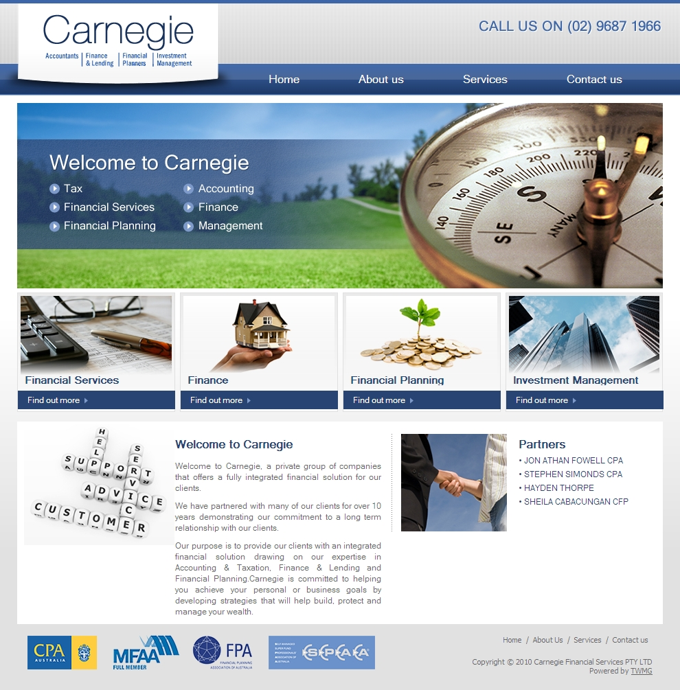 Carnegie Main Page