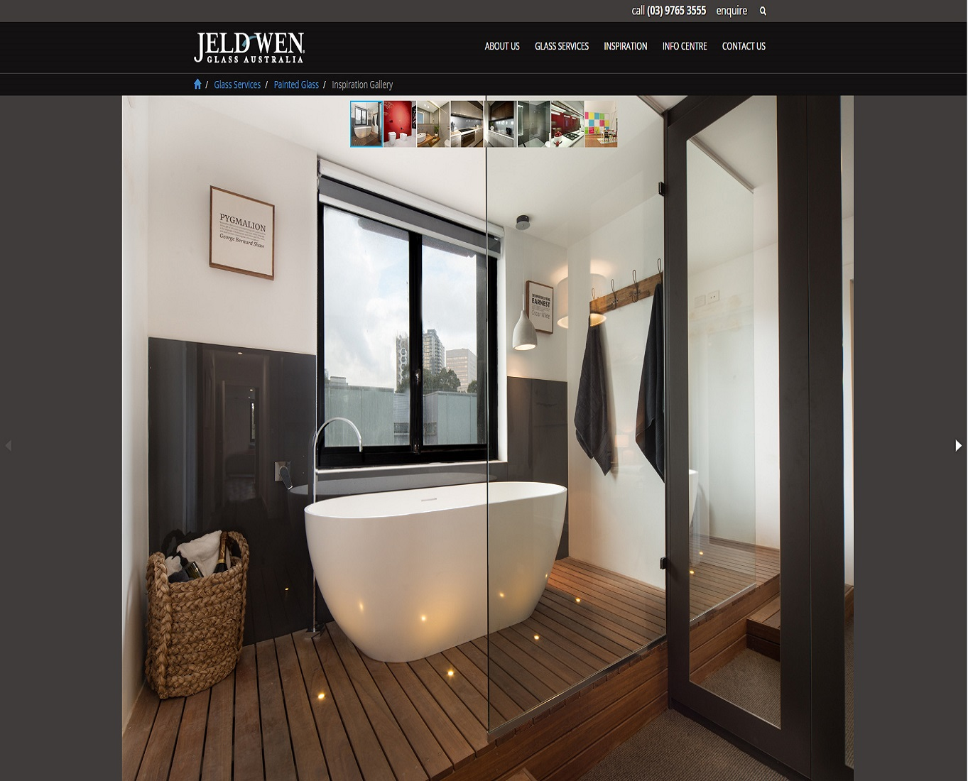 Check out New JELD-WEN Glass Website - Painted Glass Inspiration Gallery to know how our web developers and web design Sydney team to help your online marketing, SEO, SEM, social marketing and web development.