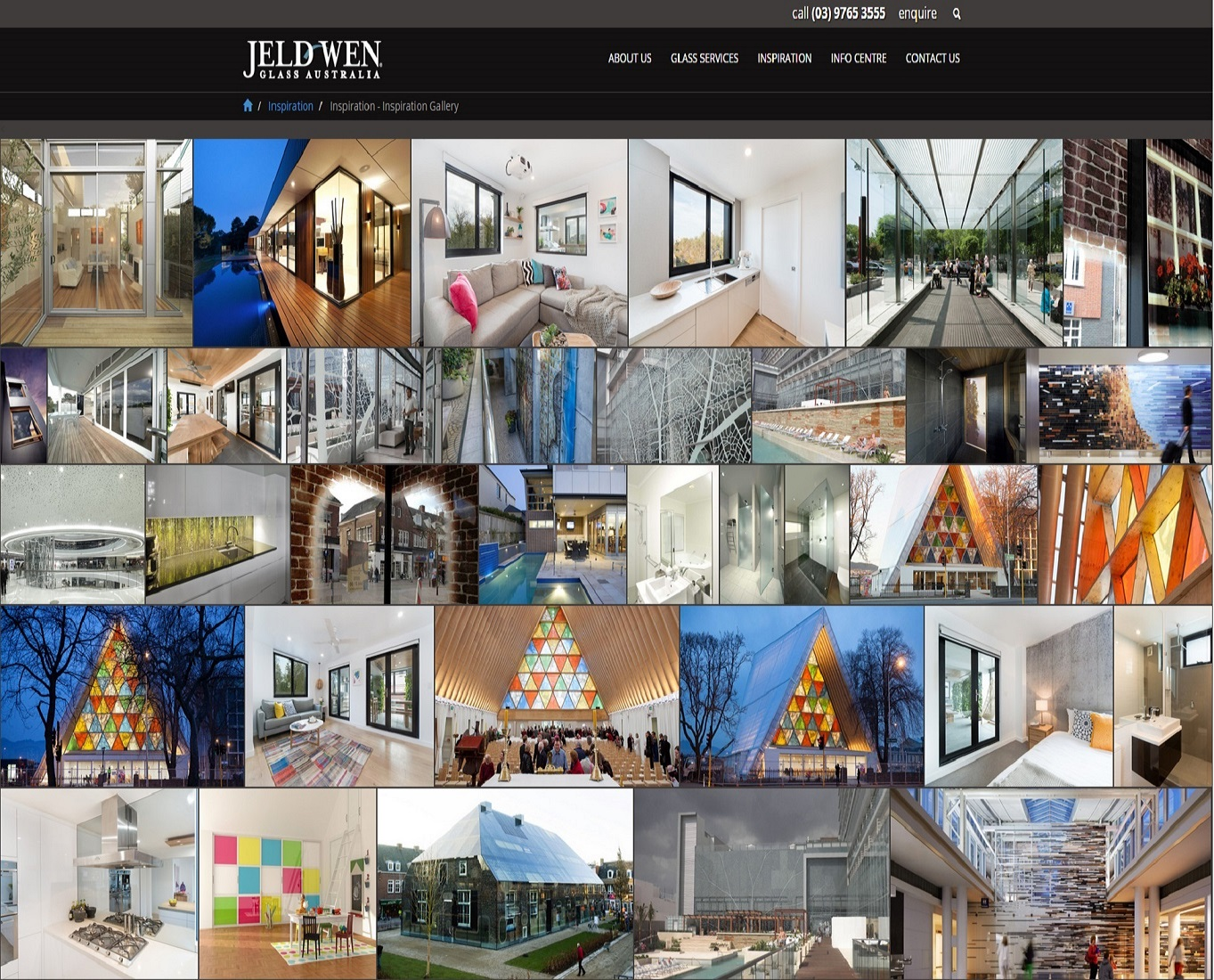Check out New JELD-WEN Glass Website - Inspiration Gallery to know how our web developers and web design Sydney team to help your online marketing, SEO, SEM, social marketing and web development.