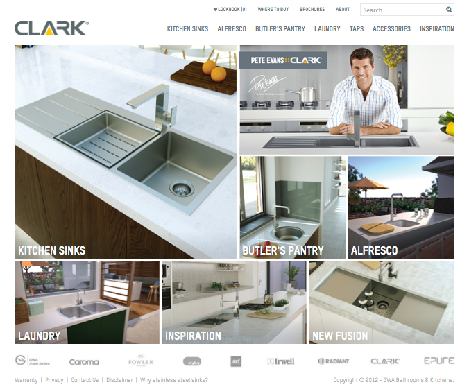 Check out Caroma Clark Home to know how our web developers and web design Sydney team to help your online marketing, SEO, SEM, social marketing and web development.