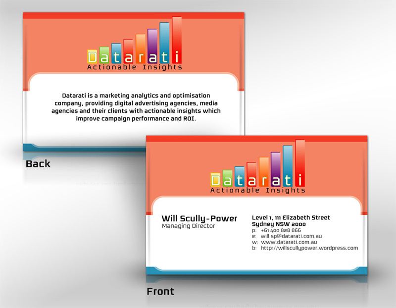 DATARATI Print Business Cards