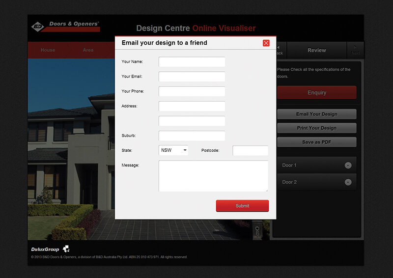 Check out B&D Design Centre- Online Tool Virtually Models Garage Doors to know how our web developers and web design Sydney team to help your online marketing, SEO, SEM, social marketing and web development.