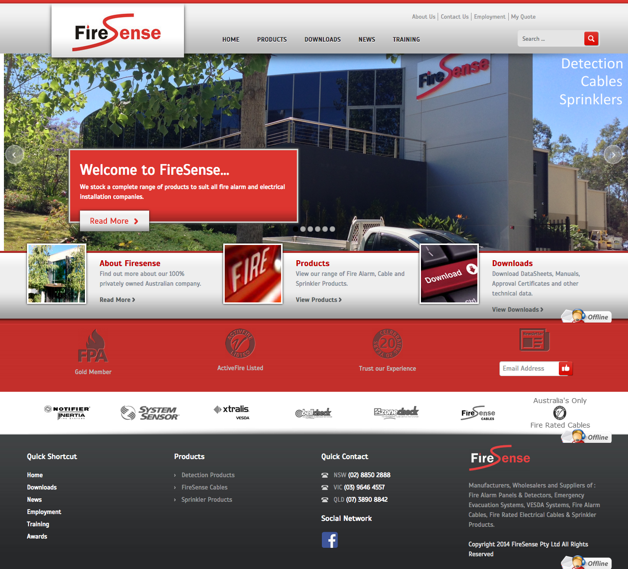 Check out FireSense - Product Catalogue - Home to know how our web developers and web design Sydney team to help your online marketing, SEO, SEM, social marketing and web development.