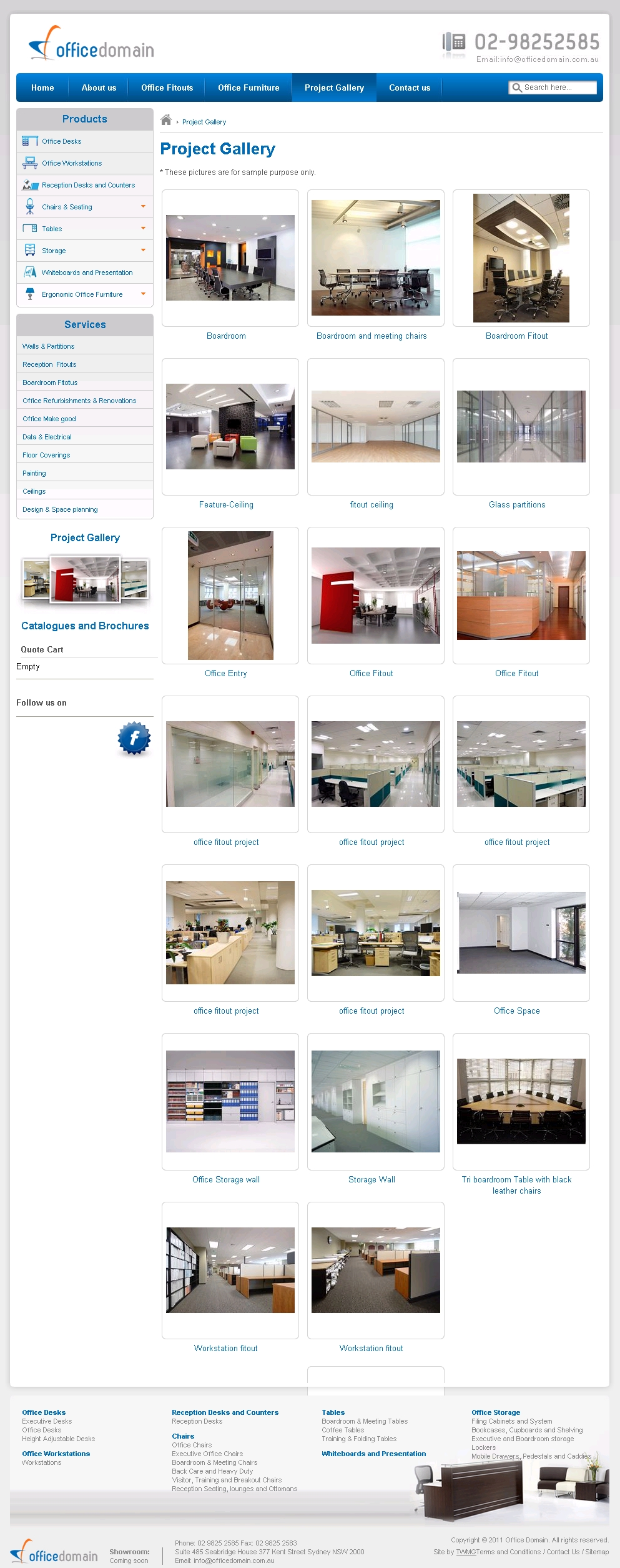 Office Domain Project Gallery