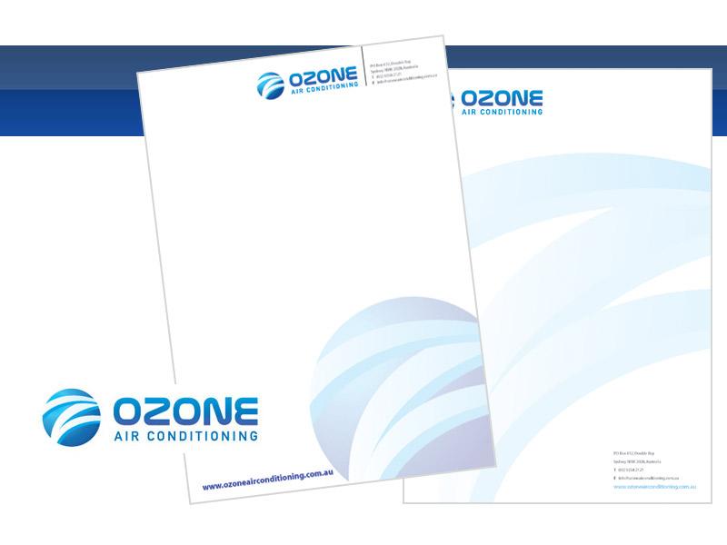 Check out Ozone Letterhead Sample to know how our web developers and web design Sydney team to help your online marketing, SEO, SEM, social marketing and web development.