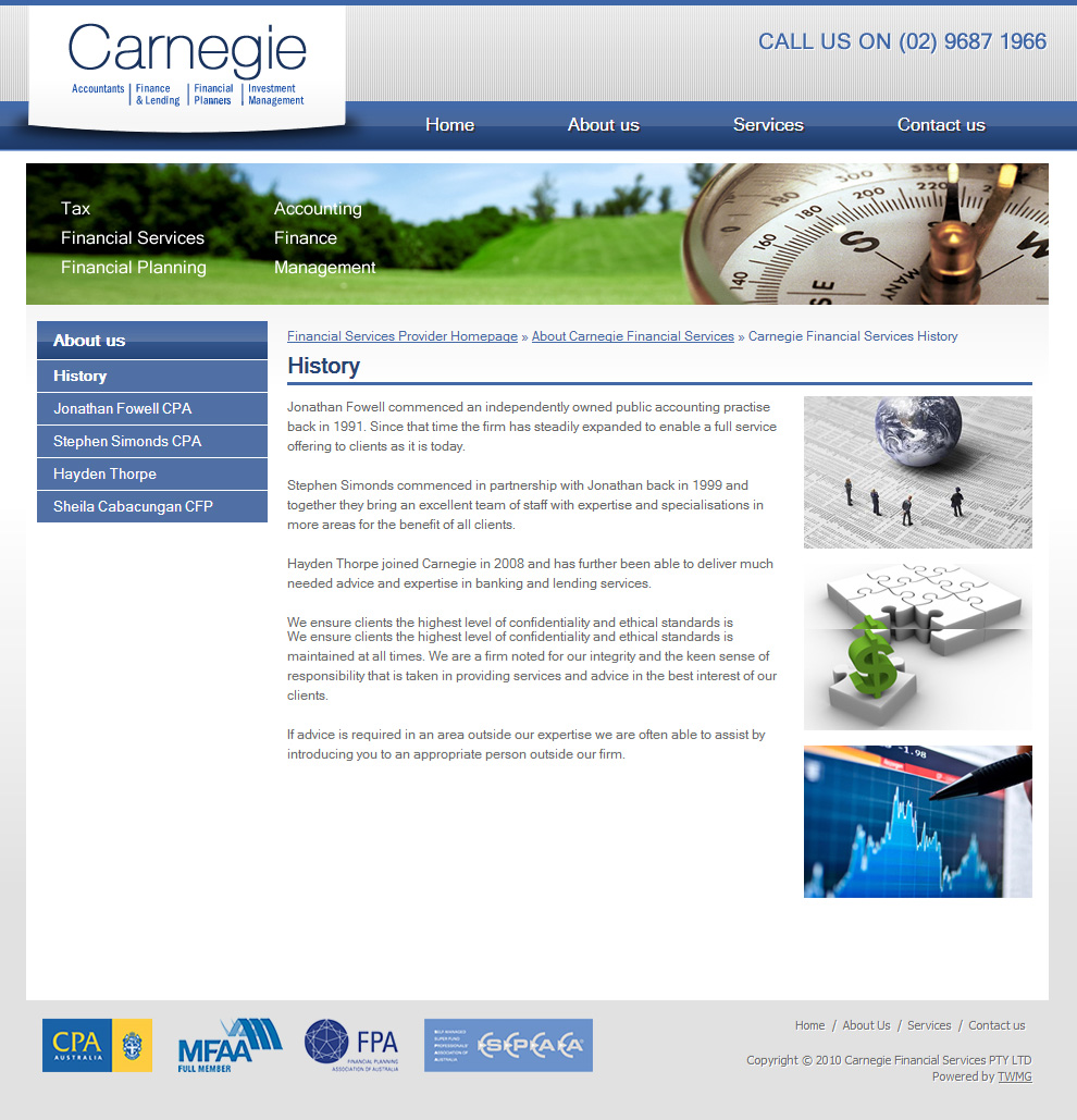 Carnegie About Us